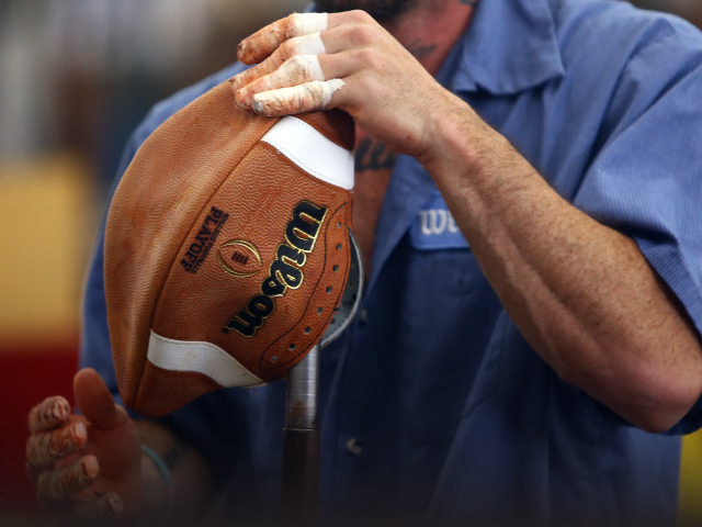 CFP Football - Hand Turned